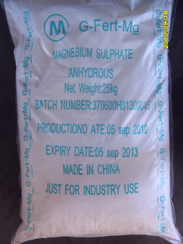 Magnesium Sulphate 3